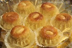 recette de cuisine alg ienne traditionnelle dziriettes gâteau traditionnel algérien aux amandes avec photos