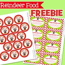 amanda u0027s parties to go free reindeer food tags christmas