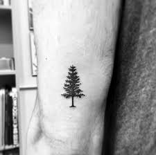 60 small tree tattoos for masculine design ideas