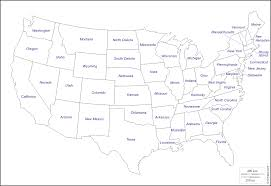 map usa map of united states with state names world maps