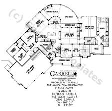 bungalow blueprints amicalola bungalow house plan house plans by garrell associates