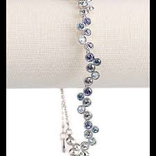 blue crystal bracelet swarovski images Swarovski jewelry crystal fidelity blue bracelet poshmark jpg