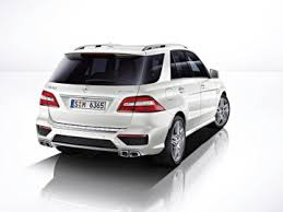 mercedes biturbo suv the mercedes ml 63 amg exclusive suv with v8 biturbo