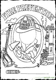 fire prevention week coloring pages educational fire prevention