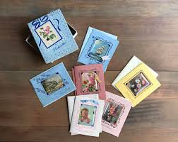 greeting card boxes etsy