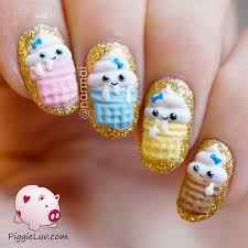 nail designs for birthday