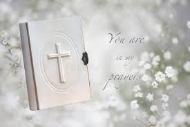 funeral prayers card stock image image of flower loss 36355119