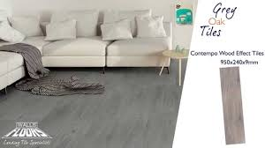 Grey Wood Effect Laminate Flooring Contempo Wood Effect Tiles Grey Oak Tiles 14267 Youtube