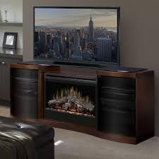 dimplex acton 72 inch electric fireplace media console inner