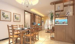 Glass Partition Between Living Room And Kitchen 3d Interior Design Dining Living Room Cabinet Partition Ceiling