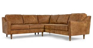 canapé cuir made in dallas canapé d angle en cuir de qualité supérieure marron clair