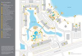 Walt Disney World Resorts Map by The Fountains In Orlando Fl Bluegreen Vacations