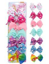 different types of hair bows jojo siwa days of the week 7 hair bows ebay