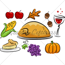 thanksgiving icons gl stock images