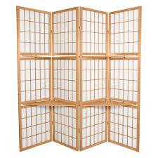 oriental room dividers griffin canvas 4 panel room divider black hayneedle