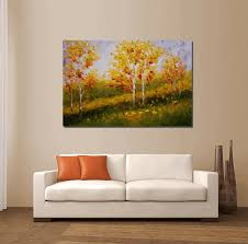 Wall Art Paintings For Living Room Buy Landscape Art From Silvia Lin