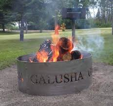 custom fire rings images Custom fire pit rings best way wood heat jpg