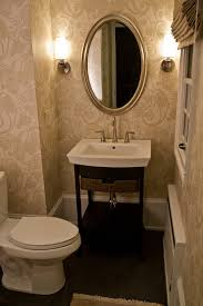 Powder Room Decorating Pictures - phenomenal york wallpaper decorating ideas gallery in powder room