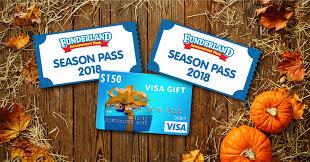 thanksgiving giveaway funderland amusement park
