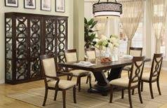 dining room lighting ideas jar lamps placed in the centre of
