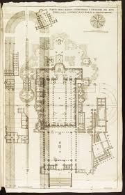 basilica floor plan plans and illustrations of the vatican from 1694 u2013 roger pearse