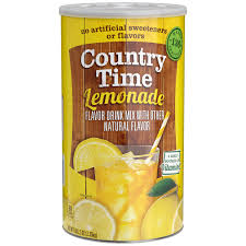 country time lemonade drink mix 82 5 oz 2 33kg walmart com