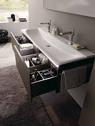 Modern Bathroom Sinks Drawer Under Floating Trough Sink Wink Chic Bathroom