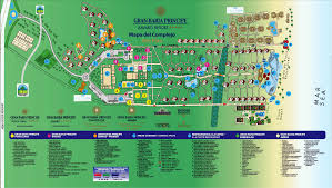 Map Dominican Republic Gran Bahia Principe Punta Cana Resort Review