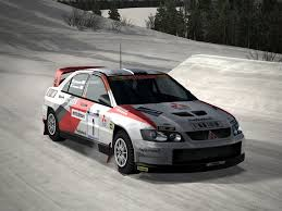 mitsubishi evo rally car mitsubishi lancer evo super rally car driving 3 by patemvik on