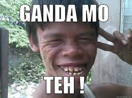 Ganda Mo Meme - peace men quickmeme