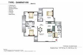 Physical Therapy Clinic Floor Plans Overview Gaur Grandeur 2 Sector 119 Noida Goldmine