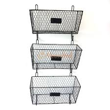 Office Wall Organizer Home Office Wall Mount 3tier Letter Rack Key Holder Mail Storage