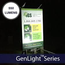 diy solar flood light genlight medium solar sign lights commercial solar sign lights