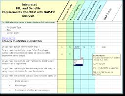 hr software requirements identification fit gap analysis