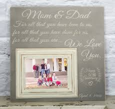 50th wedding anniversary gifts for parents 50th anniversary gift picture frame 50th wedding for all that you