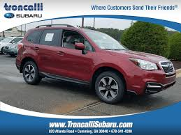 red subaru forester 2018 featured new subaru inventory in ga at troncalli subaru