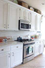 How Do You Paint Kitchen Cabinets White Kitchen Makeover And Painting Kitchen Cabinets Hometalk