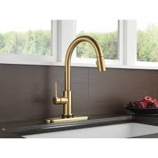 pullout sprayer kitchen faucet chrome cleanflo newtouch 2 gallery