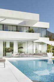 best 25 modern exterior house designs ideas on pinterest modern dazzling architecture house design with white and glass wall also swimming pool complete white marmer floors