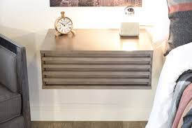 wall mounted nightstand drool danish modern floating nightstands