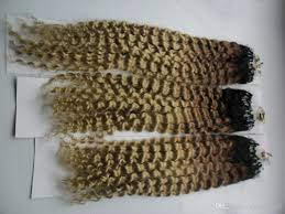 Hair Extensions Using Beads by Micro Loop Hair Extensions With Beads 300g 1g S 300s Ombre