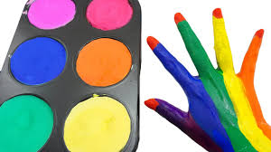 how to make frozen paint u0026 learn colors with finger family body