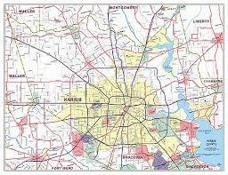 map houston harris county maps custom mapping solutions for your business harris