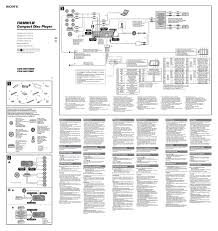 sony cdx l350 wiring diagram allis chalmers lawn mower within