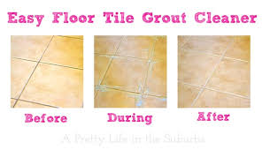 Grout Cleaning Products Easy Floor Tile Grout Cleaner A Pretty Life In The Suburbs
