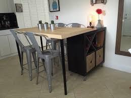 ikea table de cuisine table ilot de cuisine central ikea inspirations et wekillodors com