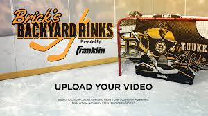brick u0027s backyard rinks contest how to send your video to nesn