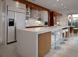 island kitchen counter wrapped kitchen countertop with white island and three bar stool