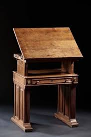 Drafting Table Wood Modern Drafting Tables Foter