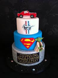 star wars superman mustang birthday cake cake couture ni